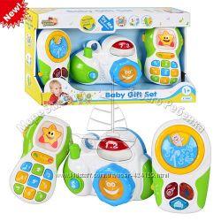 Распродажа   Набор детских муз. игрушек детский телефон, плеер, фотоап.