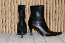 Ботинки натуральная мягкая кожа, 38 р. бу снизила цену