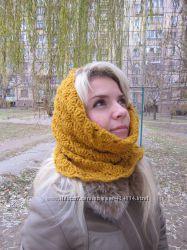 Шарф-снуд, шарф-хомут, шарф-трансформер