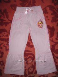 милые штаники Disney на девочку 4-5 лет
