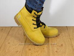 fb2eaa5ef Шикарные зимние женские ботинки в стиле TIMBERLAND. Теплый мех, 2 цвета