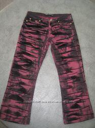 укороченные джинсы Versace оригинал