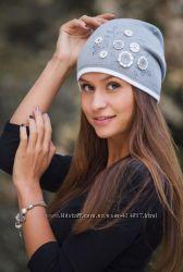 Красивые женские шапки на флисе много моделей и цветов