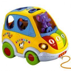Музыкальные игрушки для малышей Волшебный Цветок Автотренажер Автошка Жучек