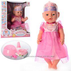 Кукла пупс Baby Born 9 функций, 10 аксессуаров
