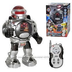 Робот с пультом управления Космический воин, интерактивный Линк,  Электрон,