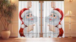 Фотошторы новогодние и рождественские