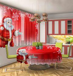 Фотошторы Новогодние, Фотошторы Новый год
