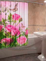 3D Шторки для ванной
