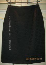 Юбка новая черная красивая 36 размера