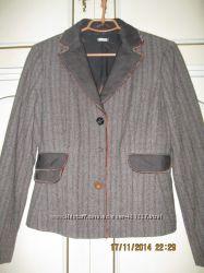 Новый стильный теплый пиджак женский