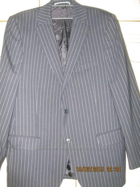 Пиджак мужской в полоску 50 размера