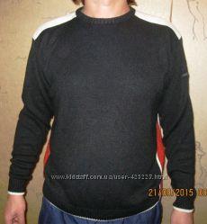 Классный стильный теплый мужской джемпер
