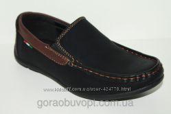 Туфли - мокасины для подростков KLF
