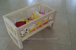 Кроватка для кукол большая - 41 см