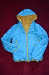 Классная двухсторонняя курточка, одета 2 раза