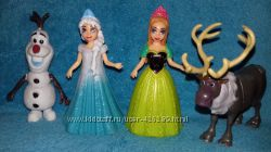 Мини-кукла принцесса Дисней Эльза Анна Disney Frozen Magiclip