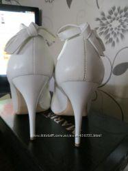 праздничные шикарные туфли натуральная кожа Новый Год, свадьба выпускной