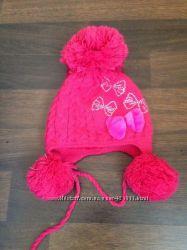 шапка теплая для девочки