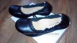 Туфли школьные новые кожа