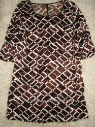 Атласная туника-платье George, размер 12