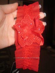 Подвязочки на ножку красные и черные