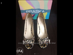 Туфли женские леопардовые Braska