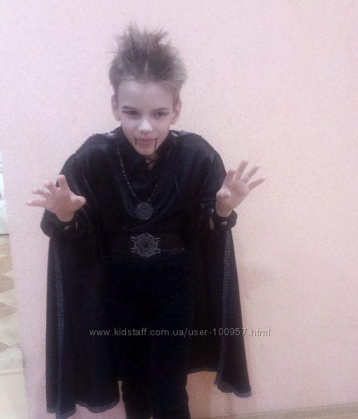 Костюм для Хэллоуина на прокат, Киев. Дракула, вампир, князь тьмы и т. п