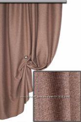 Ткань блэкаут лен для короткой шторки римки и не только