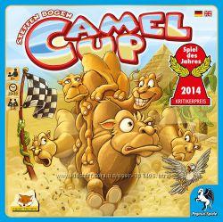Настільна гра Camel Up, 8 років, оригінал від Pegasus Spiele, Німеччина