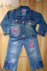 Стильный джинсовый костюмчик