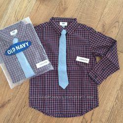 Нова сорочка з краваткою Old Navy  рубашка с галстуком