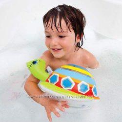 Надувные игрушки для купания в ванной intex