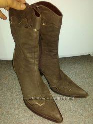 продам полусапожки стильные 37 р. узка ножка
