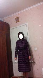 Длинный пуховик-пальто XS-S
