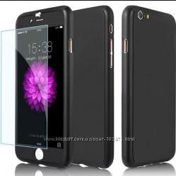Чехол  Iphone 5-6-6плюс7 зеркальный и бронестекло