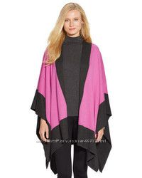 Пончо  Poncho Ralph Lauren Pink-Grey размер S-M-L-XL универсальный