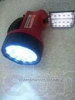 Фонарь новый аккумуляторный светодиод 1 Вт