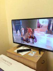 Телевизор 19 24 32 39 40 50  новый Польша смарт-тв приставка wi-fi Недорого