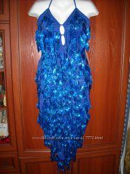 Платье, латина, выпускное, вечернее