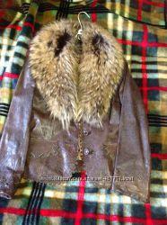 Куртка кожаная осень - зима