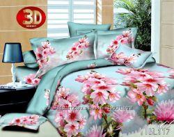 Продам постельное белье Полисатин 3 D