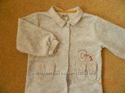 Продам велюровый костюмчик турецкой фирмы Caramell на 9-12-18месяцев