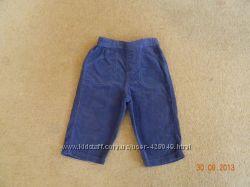 Продам вельветовые штаники на 6-9-12 месяцев