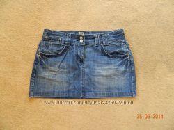 Продам джинсовую юбку размер 12 или 40 фирмы George