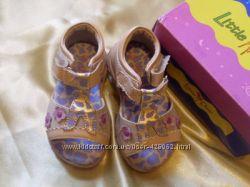 Шкіряні босоніжки 22 р. , туфлики, шльопи