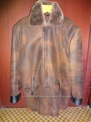 куртка кожа 2в1 Зима-Осень р. 50-52 почти Даром