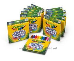 Crayola - карандаши, восковые карандаши и фломастеры