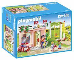 Конструктор PLAYMOBIL Preschool with Playground Playset Building Kit