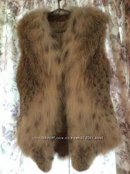 Жилет из канадской рыси Wnter Fur